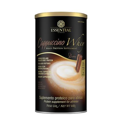 CAPPUCCINO-WHEY--448G---ESSENTIAL-NUTRITION